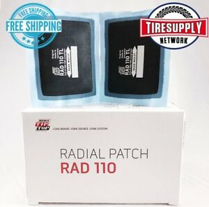 Rad 110 Rema Tip Top Radial Repair 20 Piece 2 X 2 3 4 1 Ply Tire Patch