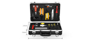 Fiber Optic Construction Tool Kits cutting stripping slitting cleaning 65141
