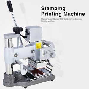 Bn Manual Tipper Stamper Pvc Card Hot Foil Stamping Printing Machine 2 Roll Foil