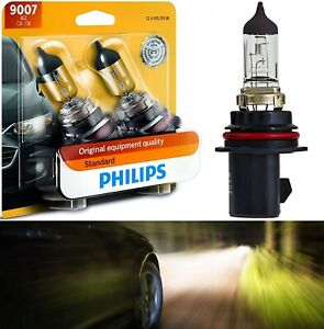 Philips Standard 9007 Hb5 65 55w Two Bulbs Head Light Replacement Dual Beam Lamp