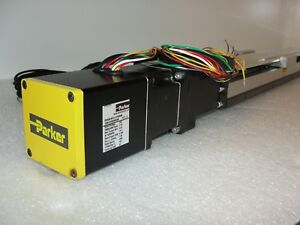 Parker Cm231fj 112349 Servo Motor With 804 2791c Linear Actuator