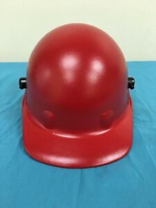 Fibre Metal By Honeywell P2qw15a000 Head Protection Red Safety Cap Size 6 3 4 8