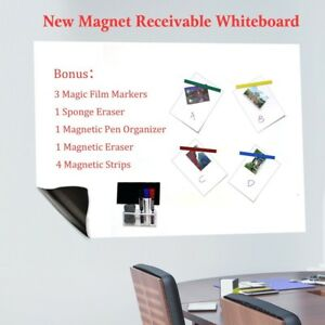 Dry Erase Adhesive Magnet Receivable Whiteboard Sheet For Wall With Magnetic Or