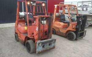 Toyota 8fgcu20 4 350lb Warehouse Industrial Fork Lift Truck Low Pro 80 Lp