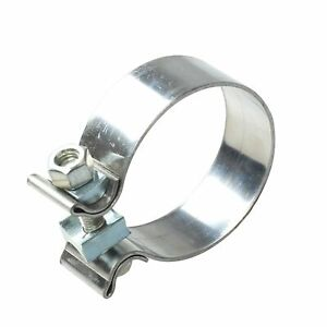 2 Stainless Steel T409 Narrow Band Exhaust Clamp Buckle Type Powerful