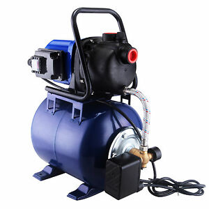 Modern 1 1 6 Hp Electric Water Booster Garden Pump Irrigation System Pool Pond