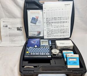 K sun Label Shop 2011xlb Label Printer With Hard Case free Shipping