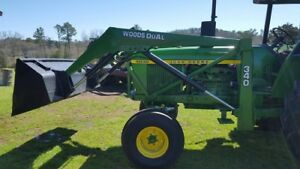 Woods 340 Loader Off John Deere 4030