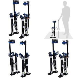Professional 18 30 Drywall Stilts With Adjustable Heel Plates
