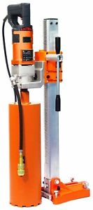 Norton Hdr600c Clipper Core Drill Rig 1 Speed 15 Amp Cardi Hand Held Motor