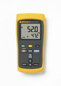 Fluke 52 2 60hz Dual Input Digital Thermometer