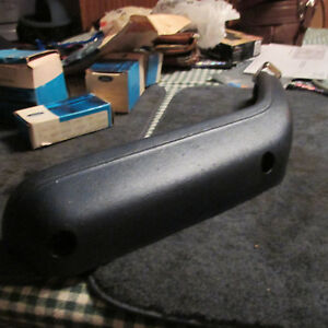 Nos 1975 1978 Ford Mustang Ii Pinto Lh Door Panel Armrest Assembly Blue Rare