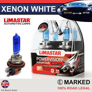 Transit Connect 13 on Xenon White H15 Halogen Drl Light Healight Bulbs 6000k