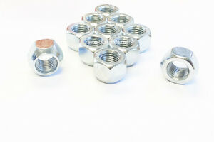 10 Open End Acorn 1 2 20 Chrome Wheel Lug Nuts 55 Height Extra Short Ford Jeep