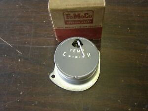 Nos Oem Ford 1951 Dash Temperature Gauge Indicator White Needle