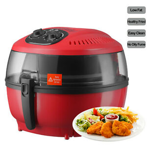 New Electric Digital Air Fryer Oil less Griller Roaster Calorie Reducer 10qt