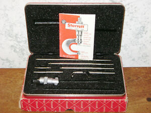 Starrett Id Inside Micrometer No 124a W Red Case Box
