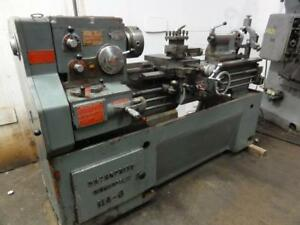 Enterpise Nishimori Gap Bed Engine Lathe 16 X 48 Bed 1000 Rpm In mm Threading