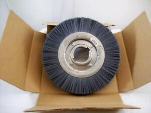 New Weiler Silicon Carbide 10 Nylox Wheel Brush 2 Arbor Hole Model 83514