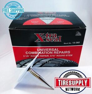 Xtraseal 13 382 Universal Patch Plug Combination Tire Repair 31 Inc Box Of 15