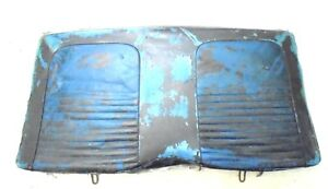 1967 Mustang Coupe Rear Seat Back Upper