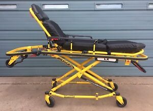 Stryker Lx Rugged Medical Stretcher Guerney Cot W Mattress And Straps