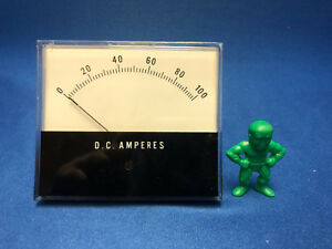 Jewell Electrical Instruments Ms3 0 100 Dc Volts Indicator F s 50 Mv d c