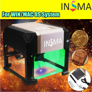 3000mw Usb 3d Laser Engraving Cutting Machine Engraver Cnc Diy Logo Mark Printer