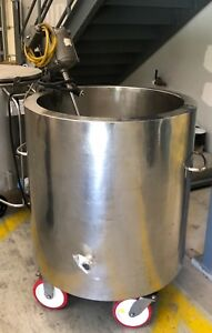 60 Gallon Stainless Steel Jacketed Tank