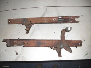 Complete Set 1968 1969 Ford Torino Ranchero Fairlane Montego Bench Seat Tracks