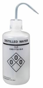 Lab Safety Wash Bottle 4 Pk Ldpe Narrow Mouth Vented Capacity 32 Oz