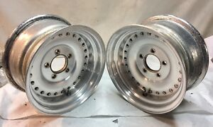 Chevy Gm Centerline Aluminum Wheels Rims 14x7 Pair Camaro Chevelle Race J14467