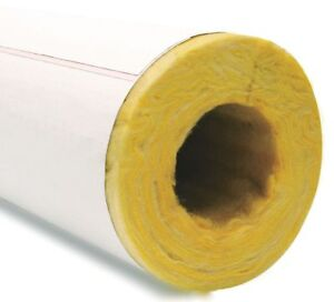 Owens Corning Fiberglass Pipe Insulation 2 Wall Thickness Hinged With Self