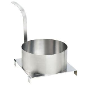 8 Stainless Steel Round Funnel Cake Mold Ring