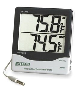 Extech Digital Thermometer 58 To 158 Degree F 401014