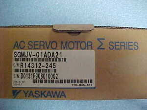 Yaskawa Ac Servo Motor Sgmjv 01ada21 New In The Box