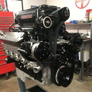 427 Ci Crate Engine 1 275 Hp Dart Ls Next Block Whipple 4 5l Supercharger