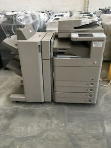 Canon Adv C5255 Color Copier Finisher Print Scan Network fax 200k Copies