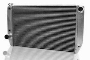 Griffin 1 25241 ts Aluminum Universal Fit Radiator For Chevy Dodge Racer