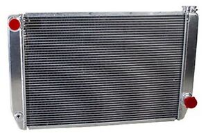 Griffin 1 25272 X Aluminum Universal Fit Radiator For Chevy Dodge Racer