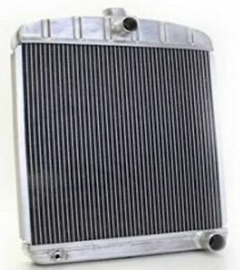 Griffin 1 70218 Lightweight Aluminum Universal Fit Radiator For Street Rod