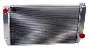 Griffin 1 25271 X Aluminum Universal Fit Radiator For Chevy Dodge Racer