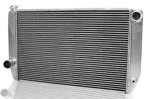 Griffin 1 26271 X Aluminum Universal Fit Radiator For Ford Dodge Racer