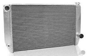 Griffin 1 55241 Xs Aluminum Universal Fit Radiator For Chevy Dodge Charger