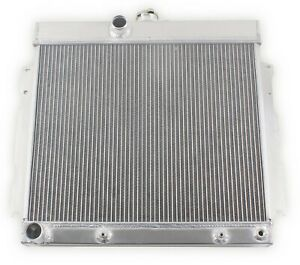 Griffin 1 70207 Lightweight Aluminum Universal Fit Radiator For Street Rod