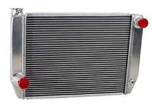 Griffin 1 26201 X Aluminum Universal Fit Radiator For Ford Dodge Racer