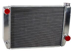Griffin 1 25201 Xs Aluminum Universal Fit Radiator For Chevy Dodge Racer