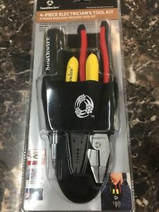 Southwire Electrician s Tool Kit Handy Nylon Carrying 10 20 Awg Wire Stripper