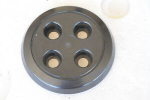 Triumph Tr7 Factory Black Plastic Hubcap With Springs