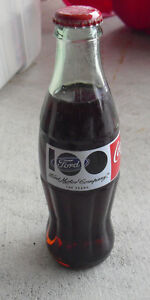 RARE Coca Cola Bottle 100 Years Ford Motor Company
